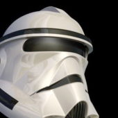 Movie Star Wars Stormtrooper Helmet