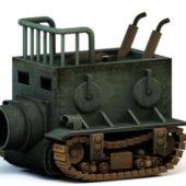 Steampunk Tank Weapon