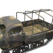 Military Steyr Caterpillar Truck