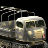 Military Steyr Fully Tracked Vehicle