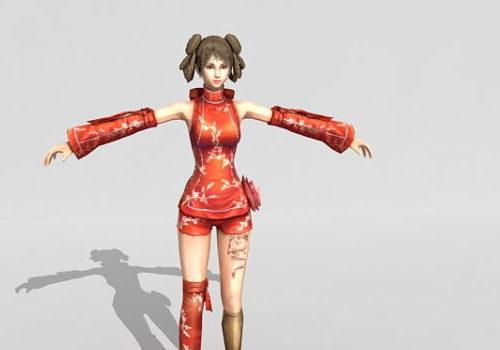 Street Fighter Girl Character V1
