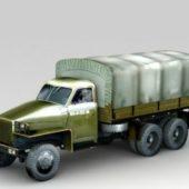 Vehicle Studebaker Military Truck