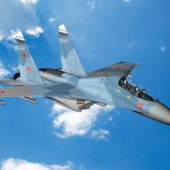 Su-30 Flanker Aircraft