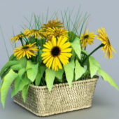 Nature Sunflower Planter