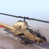 Supercobra Military Helicopter