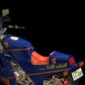 Motorcycle Suzuki Rg250 Walter Wolf