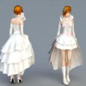 Beauty Character Sweet Bride
