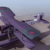 Swordfish Torpedo Biplane Military Bomber