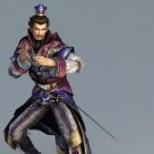 Swordsman Character Attack Animated