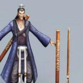 Swordsman Character Chinese Character
