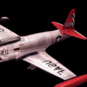 Military T-33 Shooting Star Training Aircraft