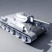 Weapon T-34 Tank