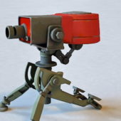 Military Tf2 Sentry Gun