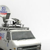 Communication News Van