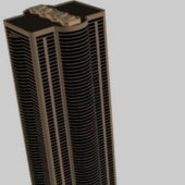 City Tall Building For Office Building