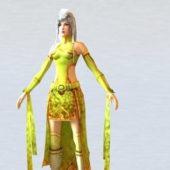 Tang Dynasty Character Woman
