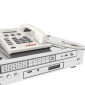 Telephone With Multimedia Dvd Player