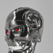 Terminator Character T-800 Head Skull