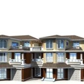 Terraced Houses Architecture Design