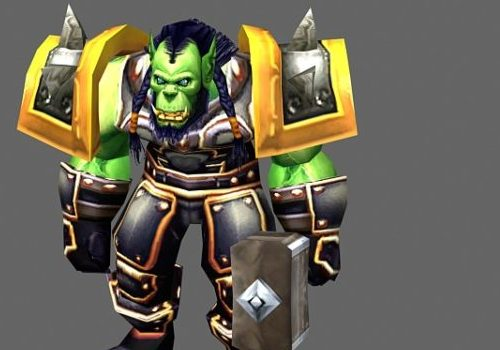 Thrall Game Character