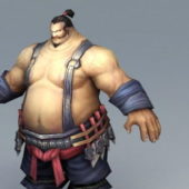 Character Throwing Axeman