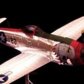 Military P-47s Thunderbolt Bubbletop