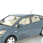 Grey Car Toyota Prius Compact