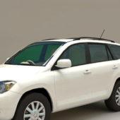 White Toyota Rav4 Car