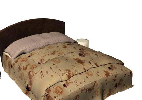 Traditional Box Spring Bed Furniture