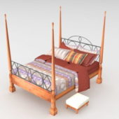 Traditional Bedroom Four Poster Bed