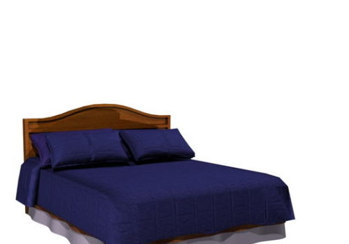 Furniture Traditional Platform Bed
