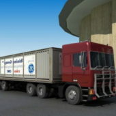 Industrial Trailer Box Truck
