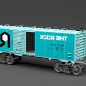 Train Wagon Vehicle
