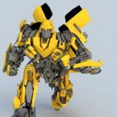 Robot Transformers Character Bumblebee
