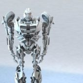 Robot Transformers Rigged