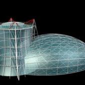 Modern Transparent Glass House Design