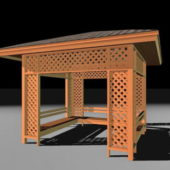 Trellis Gazebo Wooden Architecture