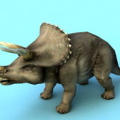 Animal Triceratops Dinosaur