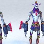 Character Troll Warrior