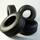 Truck Tires Stack