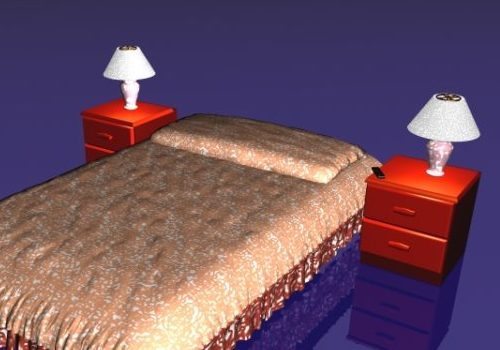 Twin Bed Furniture With Nightstands