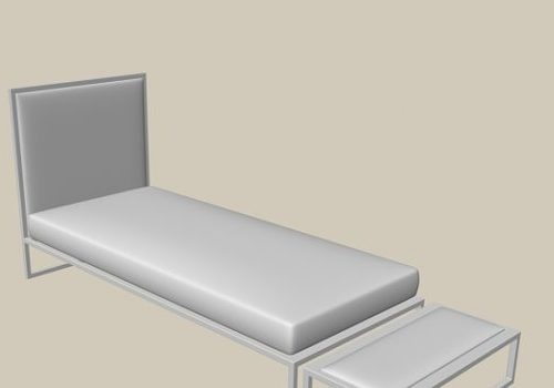 Twin Bed Furniture With Stool