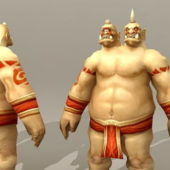 Character Two Headed Ogre