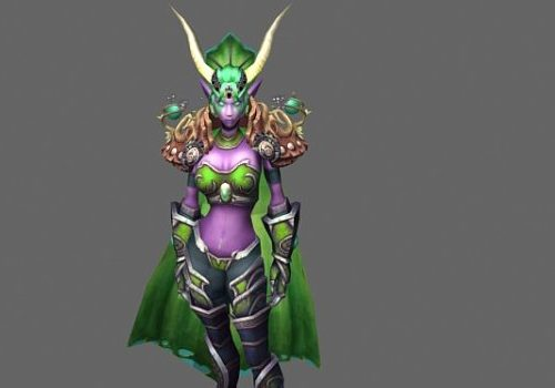 Tyrande Whisperwind Game Character