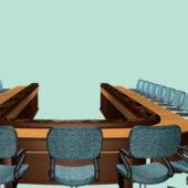 Office U Shaped Conference Room Furniture