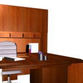 Office U Shaped Executive Desk Sets