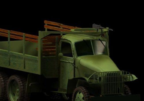 Military Us Army Gun Truck