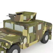 Military Us Hmmwv Vehicle