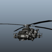 Military Uh-60 Black Hawk Helicopter