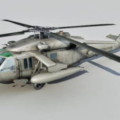Army Weapon Uh-60 Helicopter